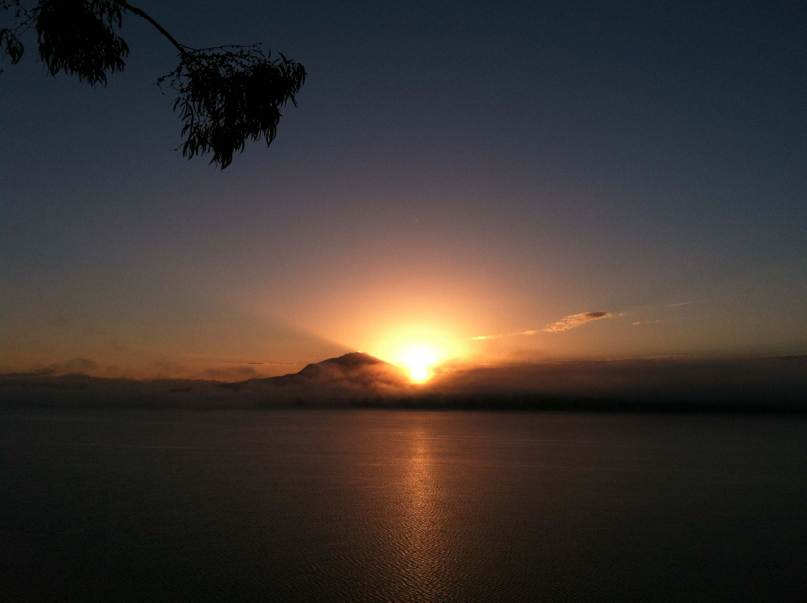 Sunrise in Puerto Varas Chile